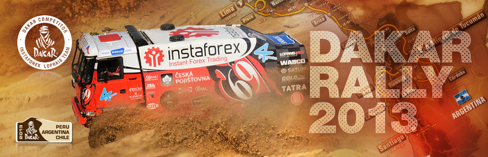InstaForex loprais team photo