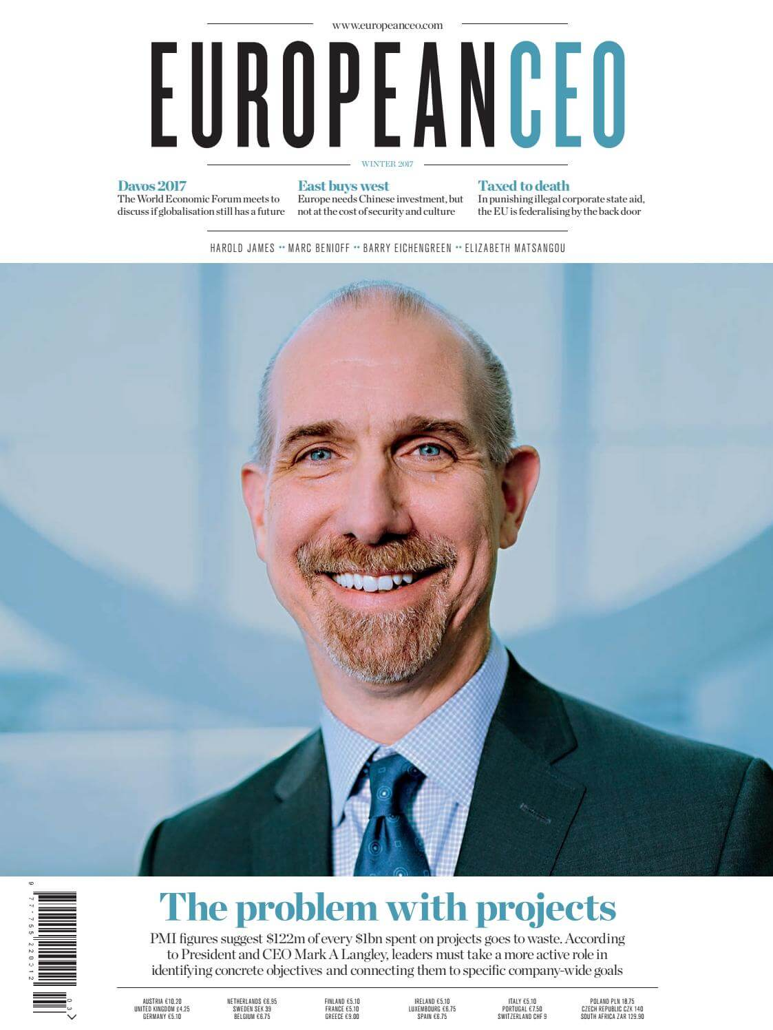 Majalah European CEO, Musim Dingin 2017