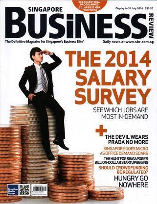 Majalah Singapore Business Review, Juli 2014