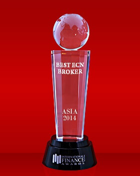 Broker ECN Terbaik di Asia tahun 2014 dari International Finance Magazine