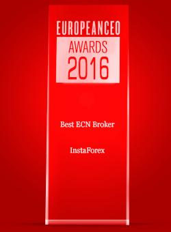 Broker ECN Terbaik tahun 2016 menurut European CEO Awards