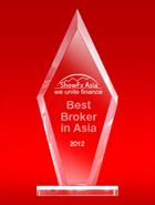 Broker Forex Terbaik di Asia tahun 2012 dari ShowFx Asia