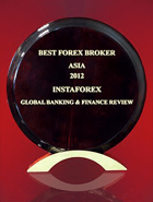 Broker Forex Terbaik di Asia tahun 2012 dari Global Banking & Finance Review