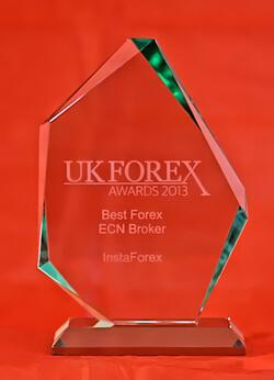 Broker ECN Forex Terbaik tahun 2013 dari UK Forex Awards