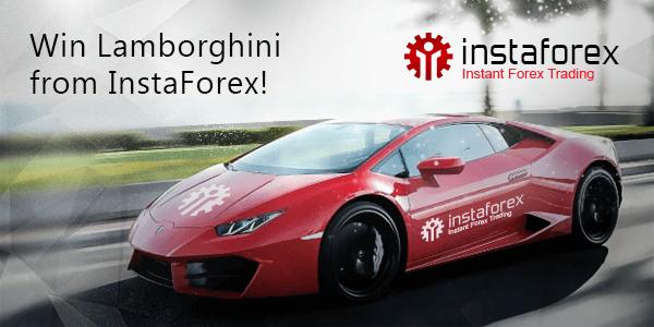 Menangkan Lamborghini dari InstaForex!