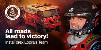 Ales Loprais - Pilot InstaForex Loprais Team