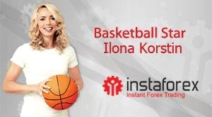 Ilona Korstin adalah wajah dari InstaForex Company